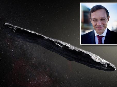 Profesor Harvard Klaim Teknologi Alien Datang ke Bumi Pada Tahun 2017