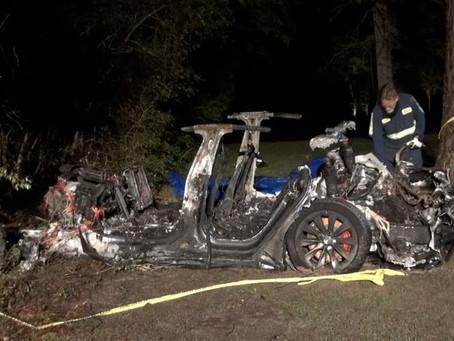Mobil Tesla Kecelakaan Lagi dan Tewaskan 2 Orang, Diduga Karena Fitur Autopilot
