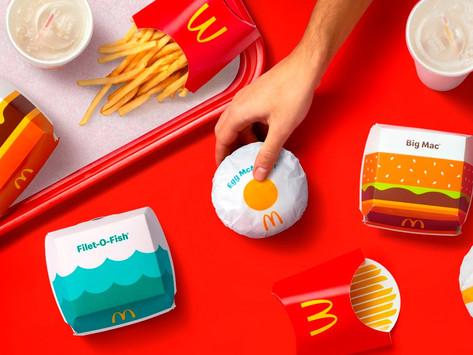 McDonald's Desain Packaging Baru di 100 Negara di Seluruh Dunia