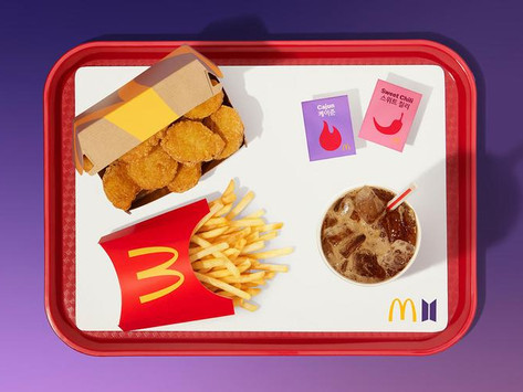 BTS x McDonald's Rilis Isi BTS Artist Meal Sebelum Peluncuran di Seluruh Dunia