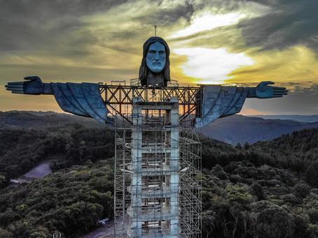 Brazil Bangun Patung Yesus Baru Lebih Tinggi Dari Rio de Janeiro