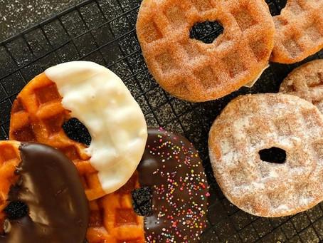 Krispy Kreme Indonesia Luncurkan Doughnut Waffle 'Doffles'