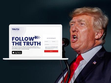 Donald Trump Luncurkan Platform Media 'Truth Social' Tahun Depan