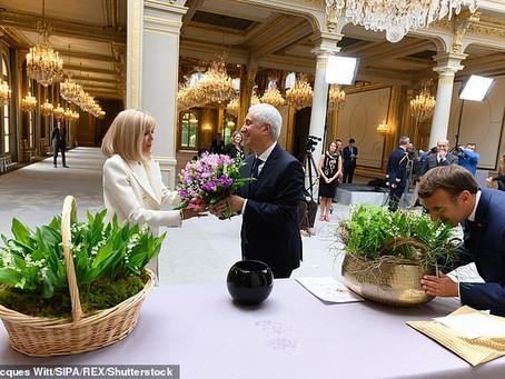 Presiden Emmanuel Macron Dihujat Rakyat Prancis Setelah Habiskan Anggaran Untuk Beli Bunga 10 Miliar