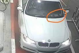"""BMW Putih Plat Polisi Kabur Saat Isi Bensil Pertamax Seharga Rp602 Ribu, Polisi: """"Cuma Iseng"""""""