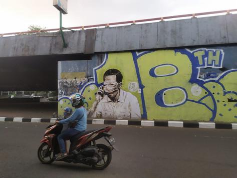 Mural Diduga Jokowi Muncul Lagi, Polisi Kini Tengah Memburu Pelaku