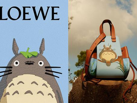 Terinspirasi Dari Impian Seorang Anak, LOEWE Berkolaborasi Bersama My Neighbour Totoro