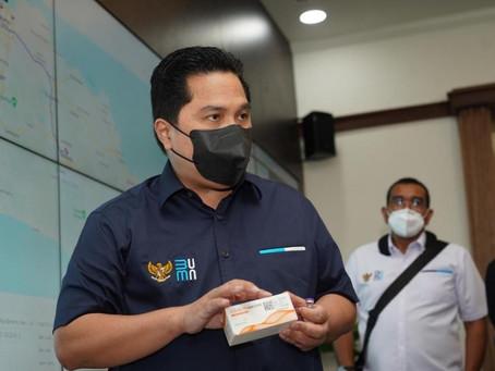 Erick Thohir Minta Indra Rudiansyah Dibalik Riset Vaksin AstraZeneca Untuk Pulang ke Indonesia