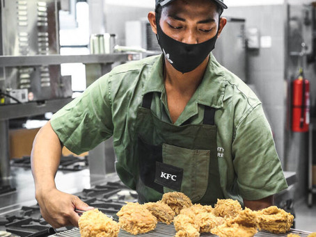 Pertama di Dunia, KFC Indonesia Buka Salad Bar 'Naughty By Nature' di Senopati