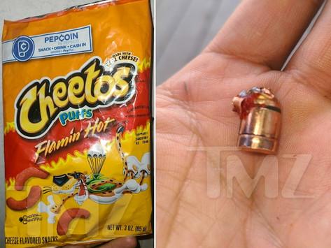 Seorang Anak Berusia 6 Tahun Menemukan Peluru di Dalam Snack Flaming Hot Cheetos