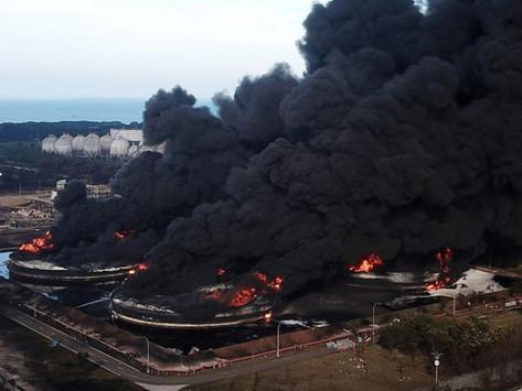 Kasus Ditutup, Penyebab Kebakaran Kilang Balongan Karena Sambaran Petir