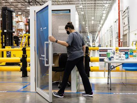 Amazon Luncurkan Booth 'AmaZen' Untuk Bantu Karyawan yang Merasa Tertekan
