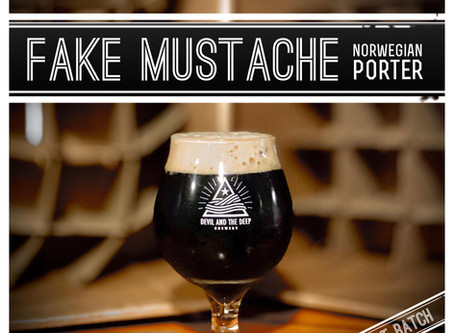 Fake Mustache - Norwegian Porter