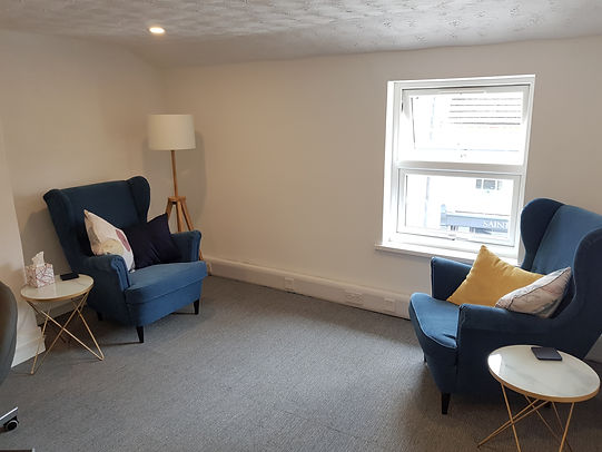 Counselling room Bromsgrove. Mary Lim Counselling & Psychotherapy