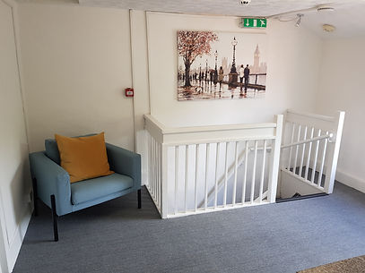 Mary Lim Counselling & Psychotherapy, Bromsgrove, waiting area