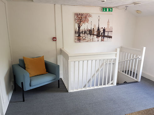 Waiting room, Mary Lim Counselling & Psychotherapy, Bromsgrove