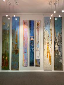 11 марта студенты посетили выставку Ирины Данилевской в NB Gallery