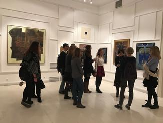 27 октября состоялась выездная лекция Л.С. Чаковской на выставках ММОМА.