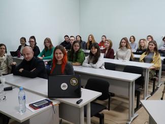 30 октября с нашими студентами встретились Анна Марченко и Алекс Романов
