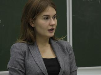 Встреча с основателем коммуникативного агентства PRaesto Анастасией Кудриной.