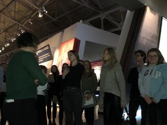 Наши студенты посетили кураторскую экскурсию в Еврейском музее