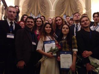 Поздравляем Михаила Чистосердова, лауреата IV Всероссийского конкурса молодых учёных в области искус