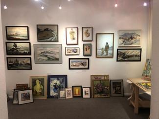 Наши студенты посетили выставку Клима Чурсина «Дороги и окрестности» в NB Gallery
