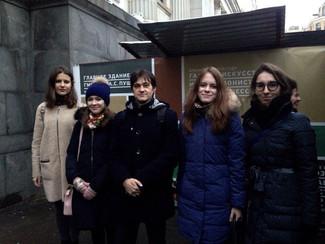 3 ноября состоялось выездное занятие на выставке «Рафаэль. Поэзия образа» в ГМИИ им. А.С. Пушкина
