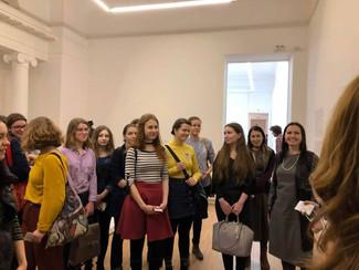 2 марта студенты посетили кураторское занятие, посвященное ретроспективе работ Жака Липшица в ММОМА