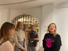 Наши студенты на открытии выставки «Трын*Трава»