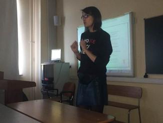 20 марта состоялась лекция Алены Агапиевой