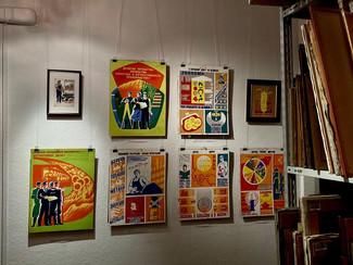 Студенты посетили выставку «Подвиги смелых ждут!» в NB Gallery