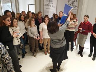 8 декабря состоялись занятия выездной школы отделения в Государственном Эрмитаже