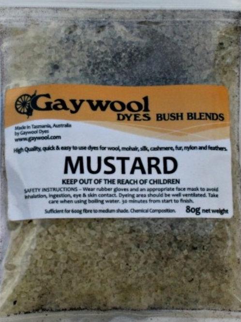 Gaywool Bush Blends - Mustard 80 grams