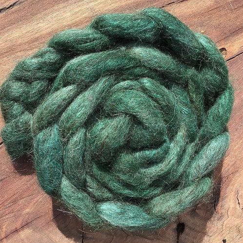 Rainforest collection- Multi alpaca/ Corriedale blend 90 grams