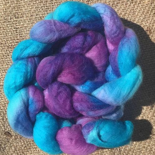 #301 17.5 micron  steam dyed merino roving 100g