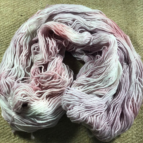 Pretty in pink 4 ply sock yarn