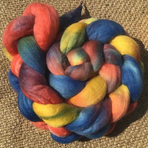 #303 merino steam dyed roving 100 g
