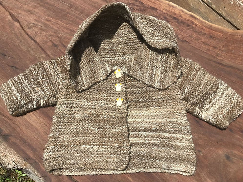 Baby Hooded Jacket 6-12mth