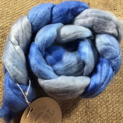 #214 steam dyed merino roving 100 g