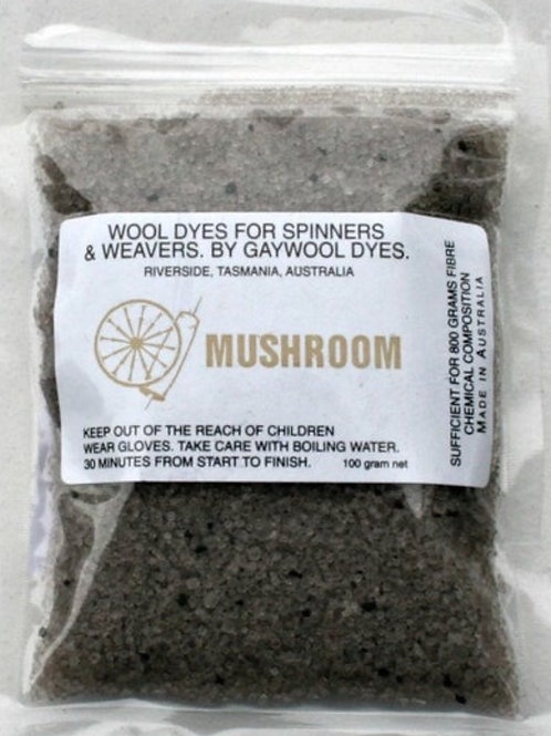 Gaywool Original Dye- Mushroom 100 g