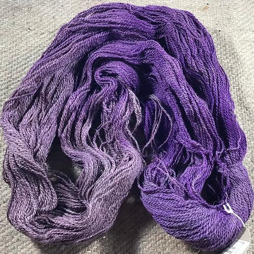 Salvia steam dyed Merino/ Corriedale 4 ply 100 g