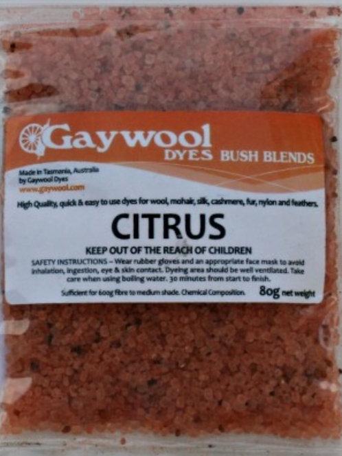 Gaywool Bush Blends - Citrus 80 grams
