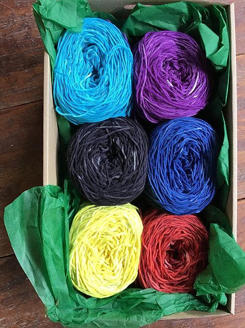 Australian cotton 8 ply crochet pack