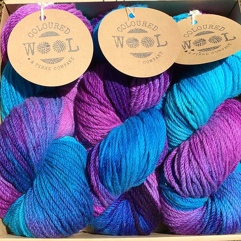 Peacock Polwarth gift pack