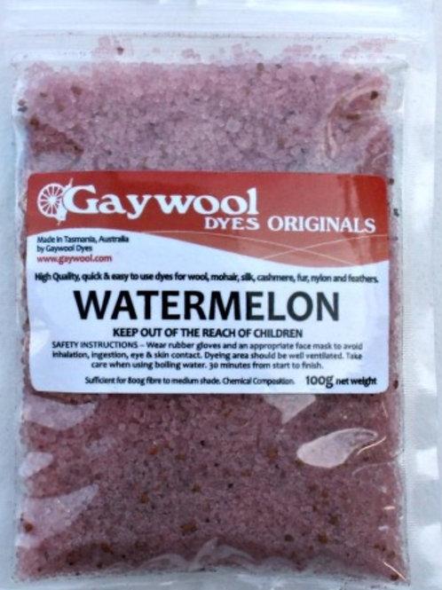 Gaywool Original Dyes - Watermelon 100 g