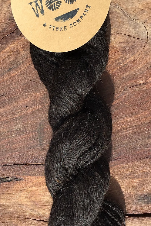 Naturally Coloured Suri Alpaca yarn 50 grams