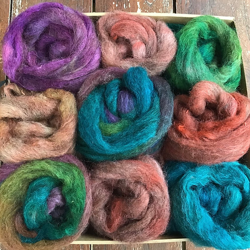 Steam dyed spinners felters sampler pack 180 g #4