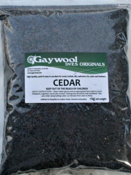 Gaywool Original dyes - Cedar 100 g