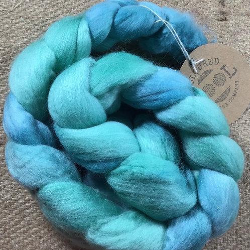 #219 steam dyed merino roving 100 g